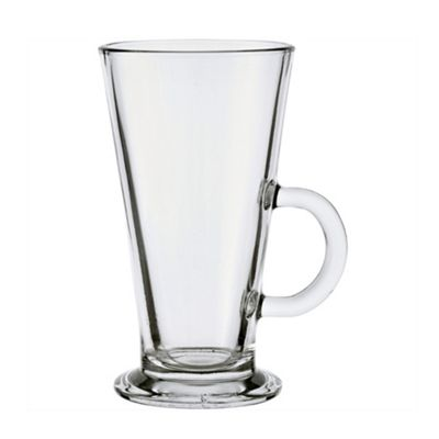 Luminarc Latte Glasses Mug, Dishwasher Safe, 42cl (Clear)
