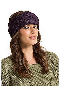 Zakti Pretty Plait Headband - Purple