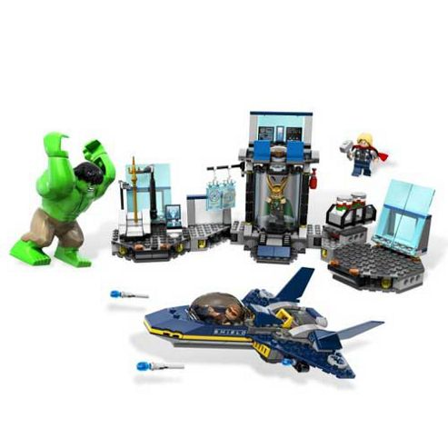 LEGO Superheroes The Avengers Hulk's Helicarrier Breakout 6868