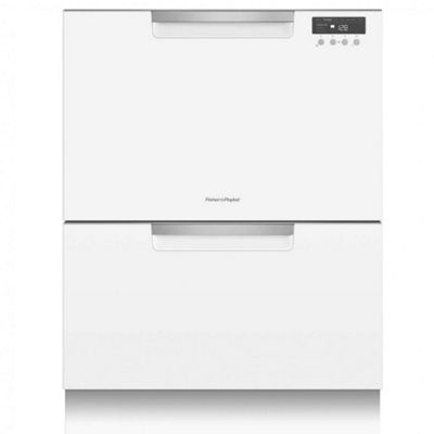 Fisher & Paykel DD60DCHW9 Double Dishdrawer | 81138 White Dishwasher