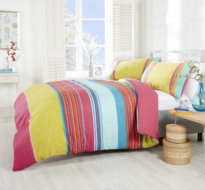 Rapport Havana Multi-colour Duvet Cover Set - Double