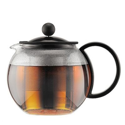 Bodum Assam Black Teapot with Stainless Steel Filter, 0.5 Litre