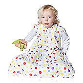 Snoozebag Baby Sleeping Bag 6-18 Months Spots 1.0 tog