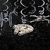 Star Wars Hanging Swirls Decoration
