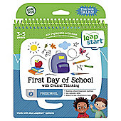 LeapFrog LeapStart Preschool Activity Book: First Day of School and Critical Thinking
