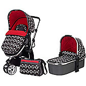OBaby Chase 2in1 Stroller & Carrycot (Eclipse)