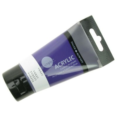 Daler Simply Acrylic Violet 75ml