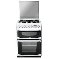 Hotpoint Electric Cooker with Electric Grill and Gas Hob, CH60DHWF S - White