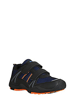 F&F Double Riptape Hiker Trainers - Blue