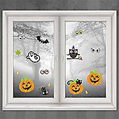 Halloween Door & Window Decs Family Friendly Window Decorations
