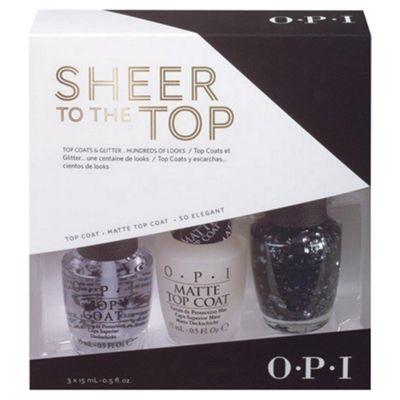 OPI Sheer to the top opi nail set