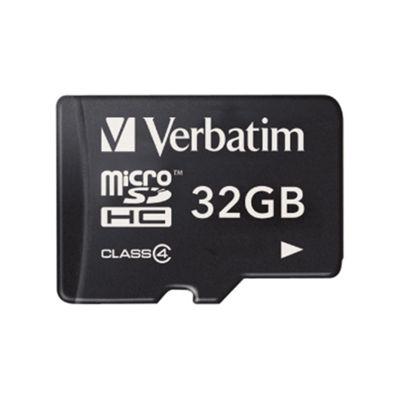 Verbatim microSDHC 32GB Class 4 Card