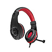SPEEDLINK Legatos Stereo Gaming Headset with Fold-Away Microphone -Black