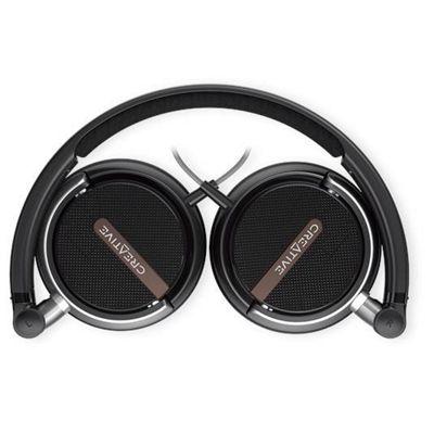 Creative Labs Flex Head-band Binaural Wired Black mobile headset