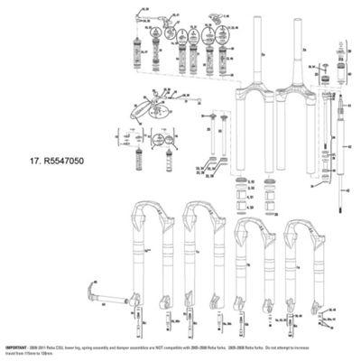 RockShox Remote Spool/Clamp Kit MoCo DNA SID & Revelation RLT 2012 (17mm Pull Damper & PopLoc/pre-2013 PushLoc Only)