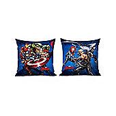 Marvel Avengers Reversible Filled Blue Cushion