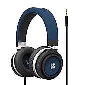 Promate Boom Over-Ear Stereo Wired Headset - Blue