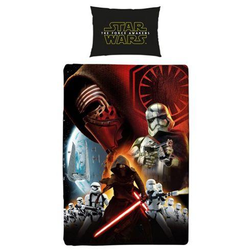 Star Wars The Force Awakens Single Duvet Set