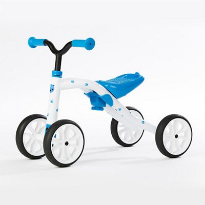 Chillafish Quadie Grow-with-Me 4-Wheel Blue Ride On