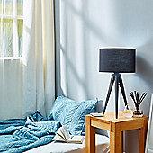 Versanora Tripod Table Standard Lamp Black Shade Modern Lighting VN-L00009