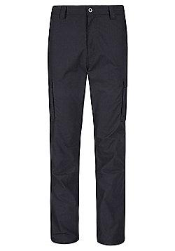 Mountain Warehouse Winter Trek Mens Regular Length Trousers - Black