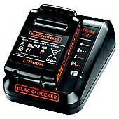 BLACK+DECKER 18V 1.5Ah Battery + 1A Charger