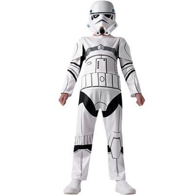 Rubies - Storm Trooper - Child Costume 7-8 years