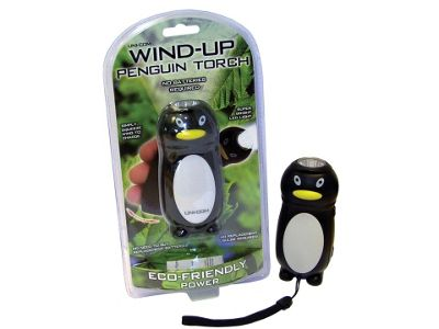 Unicom 57154 Wind Up Penguin Torch