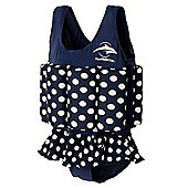 Konfidence Floatsuit Polka Dot - Blue