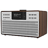 Revo SuperCD CD/DAB/FM/Internet Radio (Walnut/Silver)
