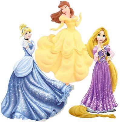 Disney Princess Foam Wall Decoration