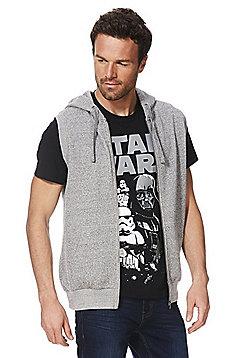 F&F Sleeveless Zip-Through Hoodie - Grey