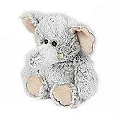 Intelex Warmies Heatable Marshmallow Elephant Microwavable Cozy Plush Soft Toy