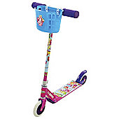 Shopkins In Line Scooter With Basket And Collectables
