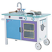 Plum Cook-a-lot Trolley Wooden Kitchen