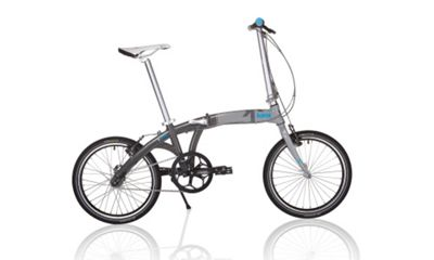 2013 kansi 3twenty Folding Bike Three-Speed White/Grey