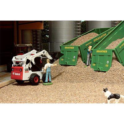 Brushwood Bt3004 Loose Ballast - Light Brown (500G) - 1:32 Farm Toys