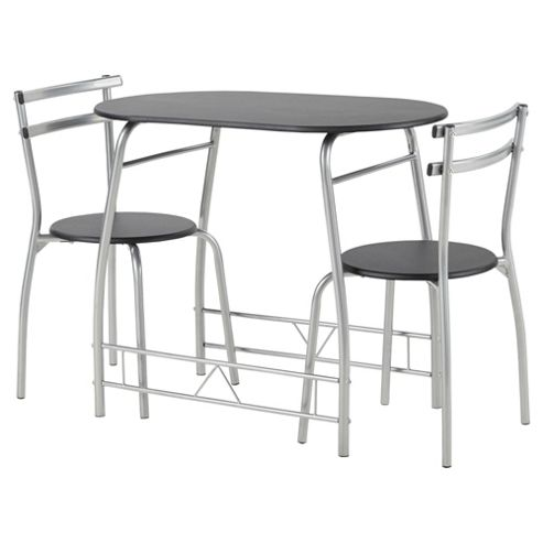 Tesco Breakfast Table And 2 Chair Set Black