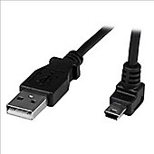 StarTech.com 1m Mini USB Cable - A to Up Angle Mini B