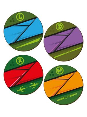 Cowabunga! 4 Piece Coaster Set