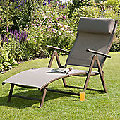 Set Of 2 Havana Mocha Sun Loungers