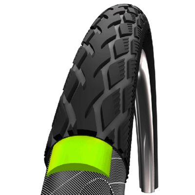 Schwalbe Marathon Tyre: 700c x 38mm Reflex Wired. HS 420, 40-622, Performance Line, GreenGuard