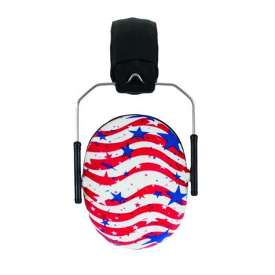 BANZ Children's Earmuffs Ages 2-10 STARS AND STRIPES