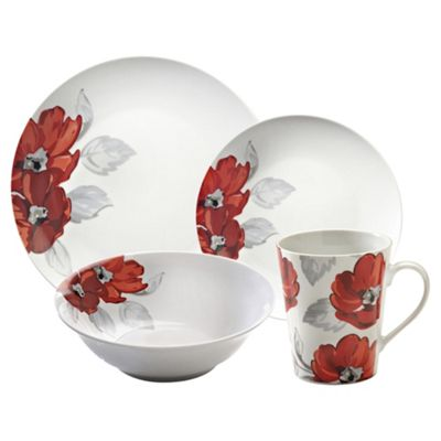 Price and Kensington Posy 16 Piece Dinner Set