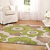 Sincerity Modern Blossom Green 120x170 cm Rug