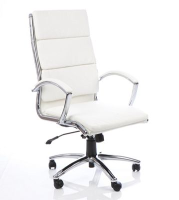 Maestro Gladsaxe High-Back Executive Chair - White