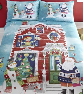 Waiting For Santa King Size Bedding