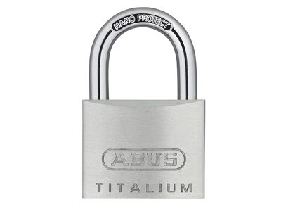 ABUS Mechanical 64TI/30 Titalium Padlock 30mm Carded Twin Pack
