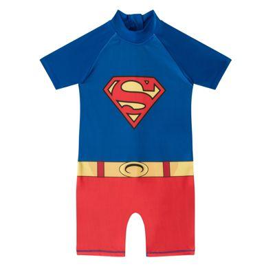 DC Comics Superman Boys Surf Suit Blue 3-4 Years