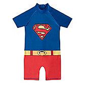 DC Comics Batman Superman Boys Surf Suit - Blue